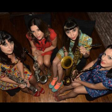 cuarteto de señoritas